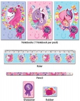 Wholesalers of Fun Stationery Stationery Set 5 Pc Ponies toys image