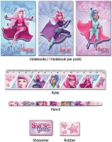 Wholesalers of Fun Stationery Stationery Set 5 Pc Super Girls toys image