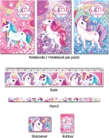 Wholesalers of Fun Stationery Stationery Set 5 Pc Unicorn toys image