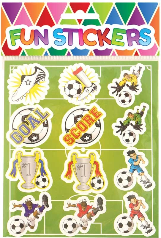 Wholesalers of Fun Stickers - Football Stickers toys