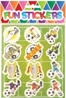 Wholesalers of Fun Stickers - Football Stickers toys image