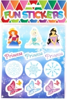 Wholesalers of Fun Stickers - Ice Princess Stickers toys image