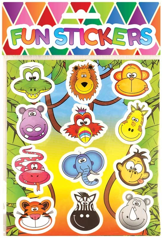Wholesalers of Fun Stickers - Jungle Stickers toys