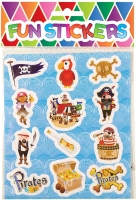 Wholesalers of Fun Stickers - Pirate Stickers toys image