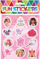 Wholesalers of Fun Stickers - Princess Stickers toys image