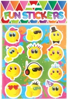 Wholesalers of Fun Stickers - Smiley Face Stickers toys image