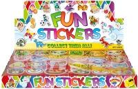 Wholesalers of Fun Stickers Stickers Animals 10x11.5cm 12pcs Per Card toys image 2
