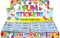 Wholesalers of Fun Stickers Stickers Butterfly 10x11.5cm 12pcs Per Card toys image 2