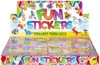 Wholesalers of Fun Stickers Stickers Cute 10x11.5cm 12pcs Per Card toys image 2