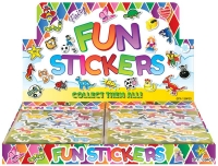 Wholesalers of Fun Stickers Stickers Dinosaur 10x11.5cm 12pcs Per Card toys image 2