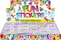 Wholesalers of Fun Stickers Stickers Owls 10x11.5cm 12pcs Per Card toys image 2