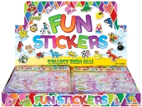 Wholesalers of Fun Stickers Stickers Unicorn 10x11.5cm 12pcs Per Card toys image 2