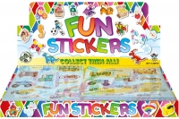 Wholesalers of Fun Stickers Stickers Vehicles 10x11.5cm 12pcs Per Card toys image 2