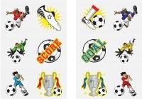 Wholesalers of Fun Tattoos - Mini Football Tattoos Asst toys image