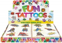 Wholesalers of Fun Tattoos - Super Hero Tattoos Asst toys image 2