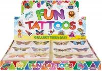 Wholesalers of Fun Tattoos Mini 4cm Butterfly 6 Pcs Per Card 2 Asst toys image 2
