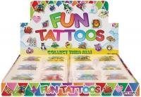 Wholesalers of Fun Tattoos Mini 4cm Dinosaur 6 Pcs Per Card 2 Asst toys image 2