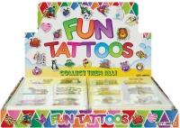 Wholesalers of Fun Tattoos Mini 4cm Farm 6 Pcs Per Card 2 Asst toys image 2