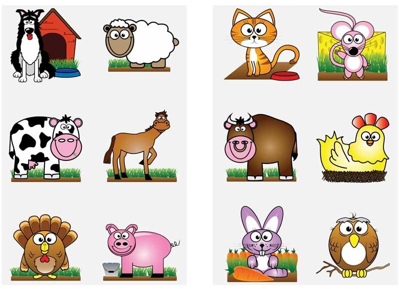 Wholesalers of Fun Tattoos Mini 4cm Farm 6 Pcs Per Card 2 Asst toys