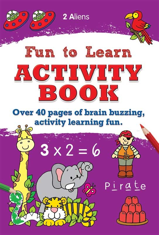 Wholesalers of Fun To Learn Activity Book toys