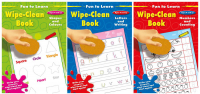 Wholesalers of Fun To Learn Wipe Clean Books toys image