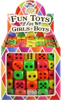 Wholesalers of Fun Toys - Asst Coloured Dice toys image 2