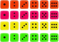 Wholesalers of Fun Toys - Asst Coloured Dice toys image