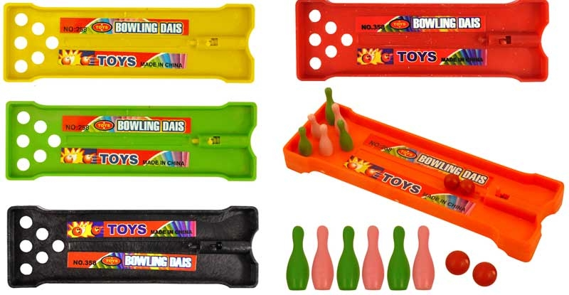 Wholesalers of Fun Toys - Bowling Alley Game 13cm toys
