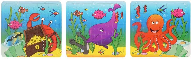 Wholesalers of Fun Toys - Sealife Puzzle Asst toys