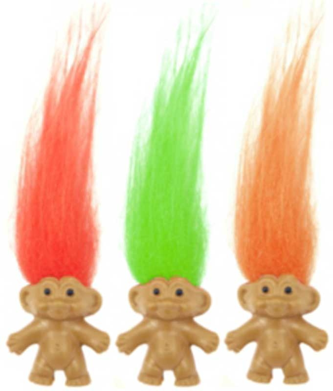 Wholesalers of Fun Toys - Troll 3.5cm toys