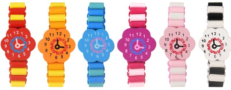 Wholesalers of Fun Toys - Wooden Bracelet Watch toys