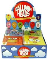 Wholesalers of Fun Toys Balloon Heads Animals 8 Asst toys image