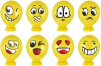 Wholesalers of Fun Toys Balloon Heads Withfaces 8 Asst toys image