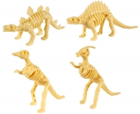 Wholesalers of Fun Toys Dino Puzzle Mini 4 Asst toys image