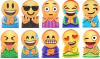 Wholesalers of Fun Toys Finger Puppets Smile Face 5x3.3cm 10 Asst toys Tmb