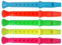 Wholesalers of Fun Toys Flute 14cm 5 Asst Cols toys image