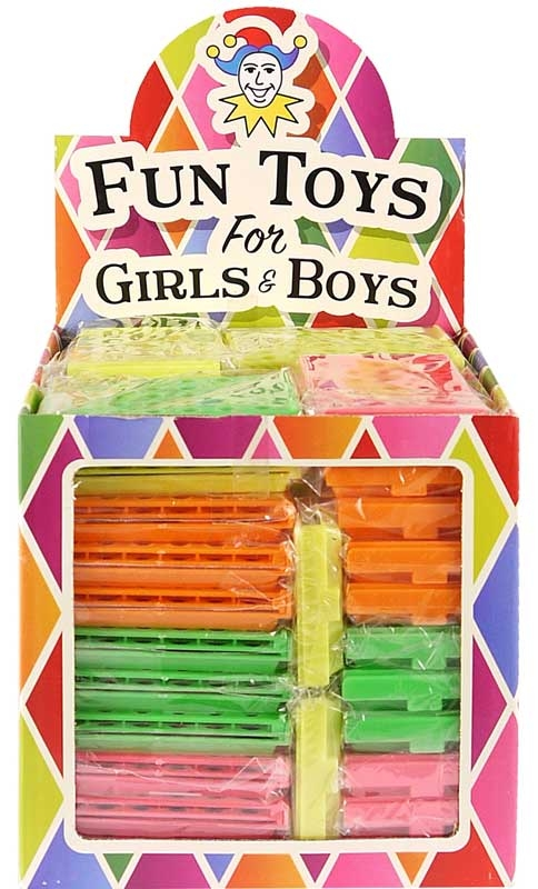 Wholesalers of Fun Toys Game Line Up 7.5 Cm 4 Asst Neon Cols toys