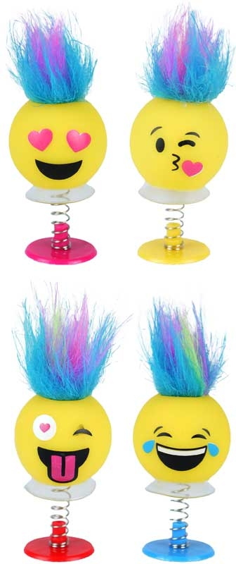Wholesalers of Fun Toys Jump Ups Funny Faces Withhair 6cm 6 Asst toys