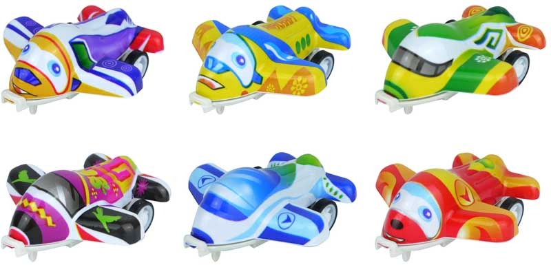 Wholesalers of Fun Toys Pullback Planes 5cm toys
