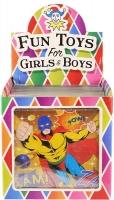 Wholesalers of Fun Toys Puzzle Super Hero 13cm X 12cm 3 Asst toys image 2