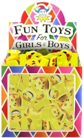 Wholesalers of Fun Toys Ring Smile Face 2x2.5cm 6 Asst Designs toys image 2