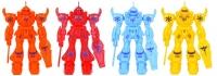 Wholesalers of Fun Toys Robot Transform 8cm 4 Asst Cols toys image