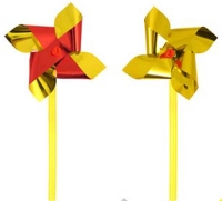 Wholesalers of Fun Toys Windmill Mini Foil 7cm With10cm Stick Asst Cols toys image 3