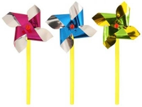 Wholesalers of Fun Toys Windmill Mini Foil 7cm With10cm Stick Asst Cols toys image 4