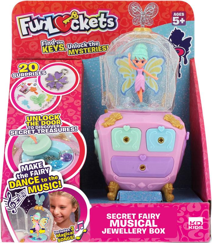 Wholesalers of Funlockets Secret Magic Fairy Jewellery Box toys