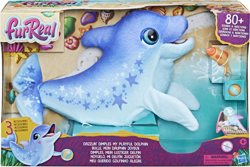 Wholesalers of Furreal Dazzlin Dimples My Playful Dolphin toys
