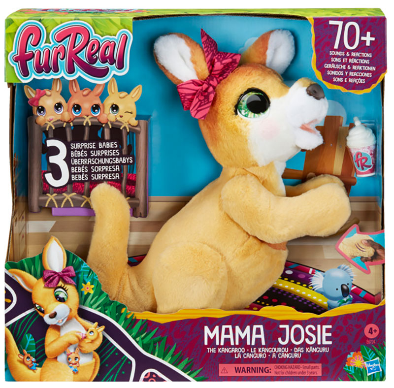 Wholesalers of Furreal Mama Josie The Kangaroo toys
