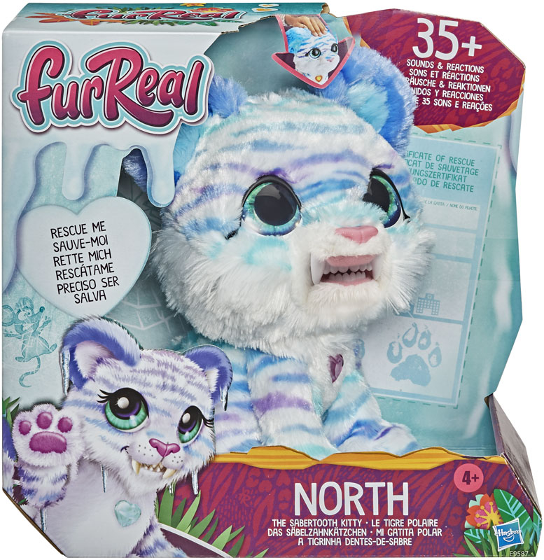 Wholesalers of Furreal North The Sabertooth Kitty toys