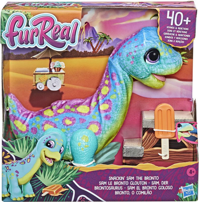 Wholesalers of Furreal Snackin Sam The Bronto toys