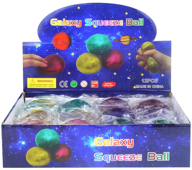 Wholesalers of Galaxy Squeeze Ball toys